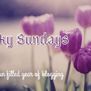 A Fun Filled Year of Blogging